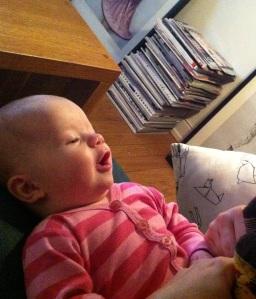 Sedan skrattade hon jättemycket!