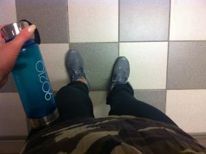 Cool vattenflaska, kammotischa och nya löparbrax.