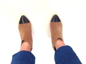 Hade jag ens på mig de här skorna förra hösten? Tror inte det.