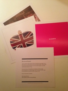 Ett brev och tre specialerbjudanden.