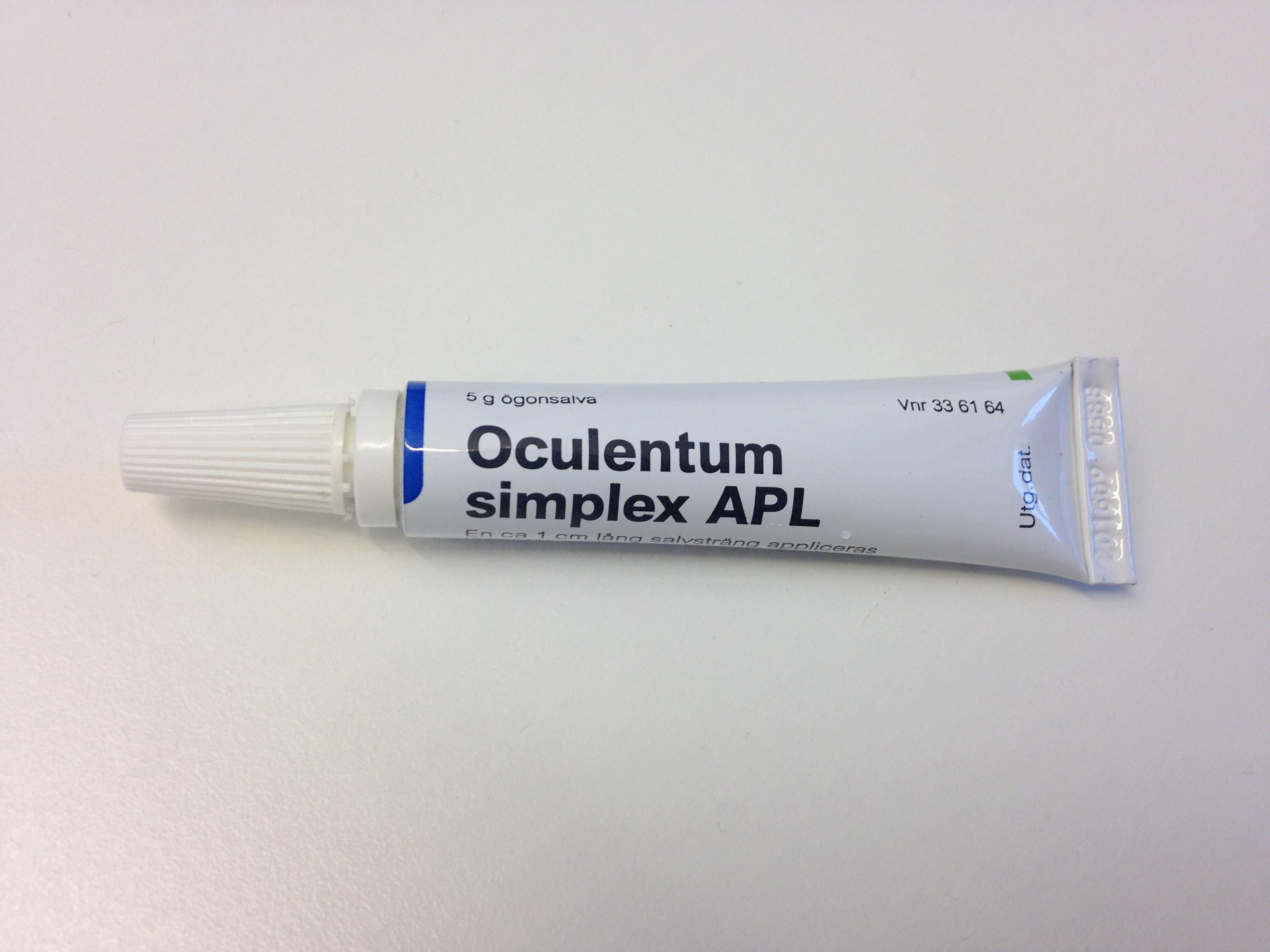 oculentum simplex ögonsalva