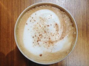 Drcukit en god kaffe på stan i lördags.