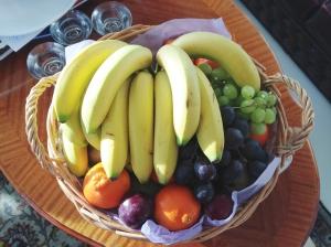 Jag är ju sämst på att komma ihåg att köpa hem frukt, nu slipper jag.