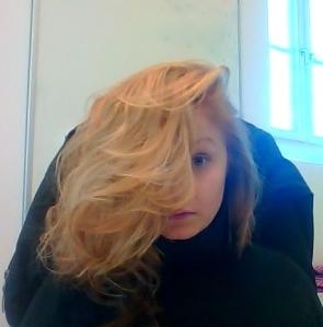 Gott nytt hår.