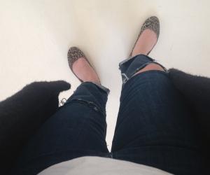 Inte Sveriges brunaste fötter alltså.