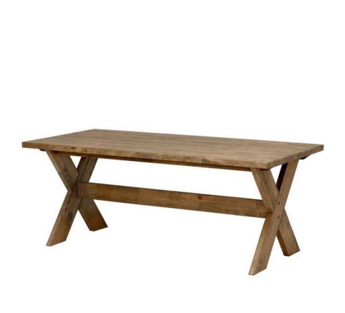 Lite enklare, men jag gillar den gråa tonen i träet. Det finns klaffar även till detat bord, så här kan man också sitta mååånga och äta!