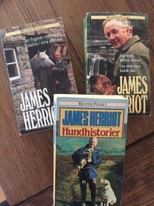 Sådana äkta mysböcker, hanldar om livet som landsortsveterinär i Yorkshire på 30-talet och framåt.